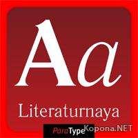 Шрифт literaturnaya (TTF, OTF)