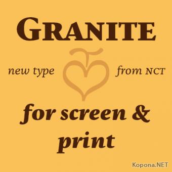 Шрифт NCT Granite (TTF)