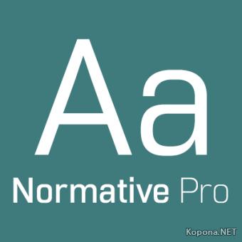 Шрифт Normative Pro (OTF)