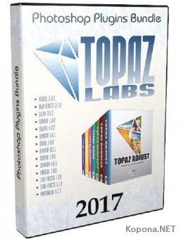 Topaz Labs Photoshop Plugins Bundle 10.2017 RePack by PooShock