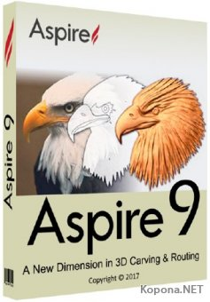Vectric Aspire 9.011 + Clipart
