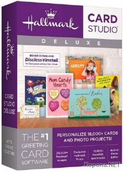 Hallmark Card Studio 2018 Deluxe 19.0.1.1 + Content