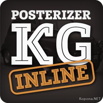 Шрифт PosterizerKGInline (TTF, OTF)