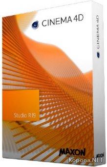Maxon CINEMA 4D Studio R19.024 + Content