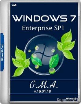 Windows 7 Enterprise SP1 G.M.A. v.16.01.18 (x64/RUS)