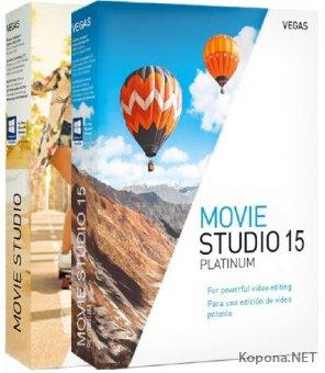 MAGIX VEGAS Movie Studio 15.0.0.99 / 15.0.0.102 Platinum + Rus