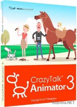 Reallusion CrazyTalk Animator 3.22.2426.1 Pipeline + Resource Pack + Bundle