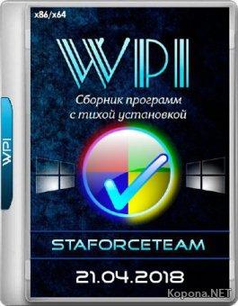 WPI StaforceTEAM 21.04.2018 (x86/x64/RUS)