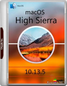 macOS High Sierra 10.13.5 Build 17F77 (2018/MULTi/RUS)