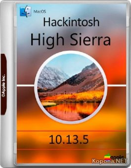 Hackintosh 10.13.5 High Sierra (MULTi/RUS/2018)
