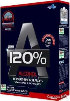 Alcohol 120% 2.0.3 Build 10521 Retail