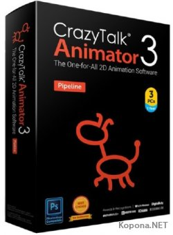 Reallusion CrazyTalk Animator Pipeline 3.3.3007.1 RePack by PooShock
