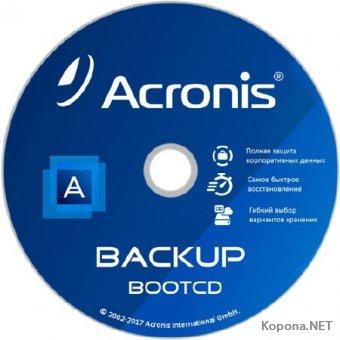 Acronis Backup 12.5.1.10130 BootCD