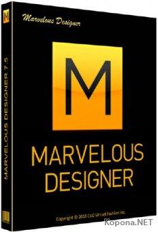 Marvelous Designer 7.5 Enterprise 4.1.100.33300