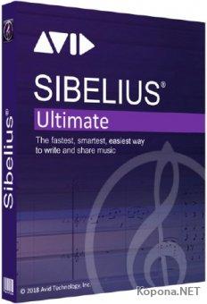Avid Sibelius Ultimate 2018.7 Build 2009