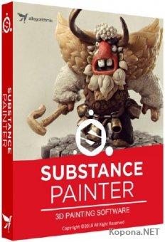 Allegorithmic Substance Painter 2018.2.1 Build 2402