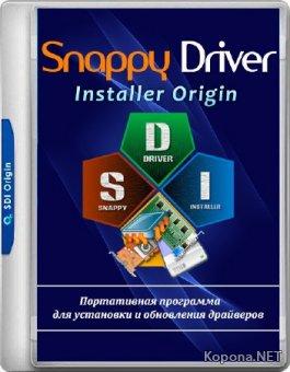 Snappy Driver Installer Origin R690 / Драйверпаки 18.08.1 (MULTi/RUS/2018)