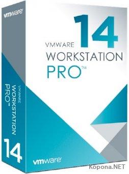 VMware Workstation 14 Pro 14.1.3 Build 9474260 + Rus + RePack + Lite
