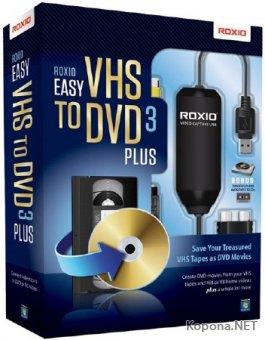 Roxio Easy VHS to DVD 3 Plus 3.0.1.28