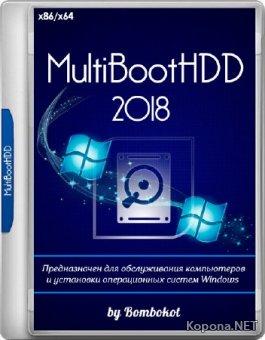 MultiBootHDD 2018 by Bombokot (x86/x64/RUS)
