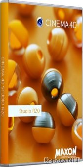 Maxon Cinema 4D Studio R20.026 + Portable