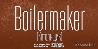 Шрифт Boilermaker