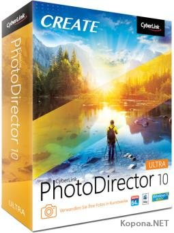 CyberLink PhotoDirector Ultra 10.0.2321.0 + Rus