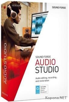 MAGIX SOUND FORGE Audio Studio 12.6.0.356