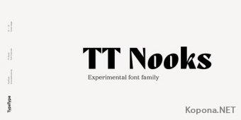 Шрифт TT Nooks