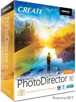 CyberLink PhotoDirector 10.0.2107.0 Ultra + Rus
