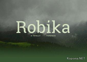 Шрифт Robika