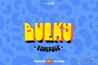 Шрифт Bulky