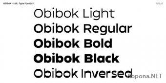 Шрифт Obibok