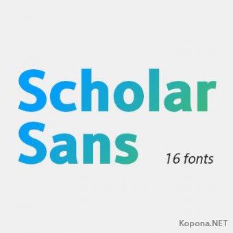 Шрифт Scholar Sans