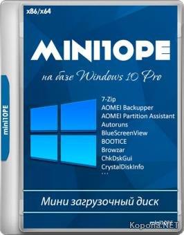 mini10PE by niknikto v.18.12.2 (x86/x64/RUS)