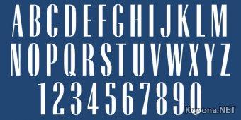 Шрифт Radiant Extra Condensed CT
