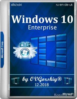 Windows 10 Enterprise 1809 RS5 x86/x64 by OVGorskiy 12.2018 2DVD (2018/MULTi4/RUS)