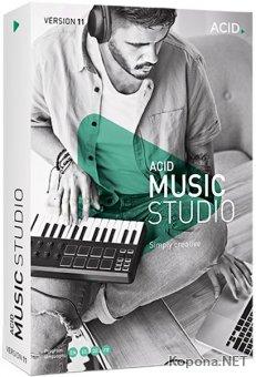 MAGIX ACID Music Studio 11.0.7 Build 18 Portable