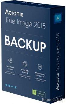 Acronis True Image 2018 Build 15470 + BootCD