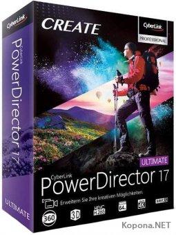 CyberLink PowerDirector Ultimate 17.0.2514.2 + Rus