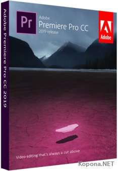 Adobe Premiere Pro CC 2019 13.0.3.8 RePack by KpoJIuK