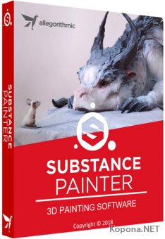 Allegorithmic Substance Painter 2018.3.3 Build 2900