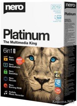 Nero Platinum 2019 Suite 20.0.06800 + Content Pack