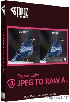 Topaz JPEG to RAW AI 2.0.1