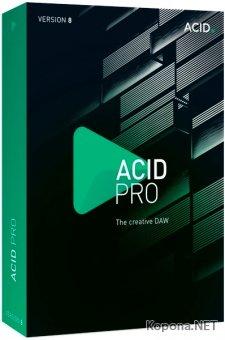 MAGIX ACID Pro 8.0.8 Build 29 RePack by KpoJIuK