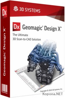 3D Systems Geomagic Design X 2019.0.1 Build 748