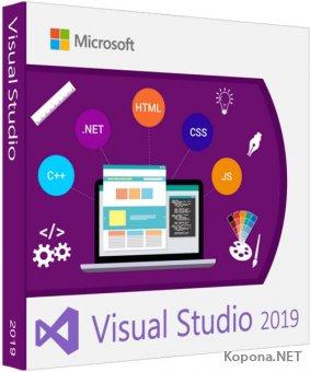 Microsoft Visual Studio 2019 16.0.4 All Editions