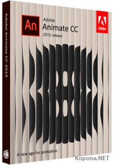 Adobe Animate CC 2019 19.2.1.408 RePack by Pooshock