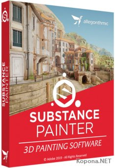 Allegorithmic Substance Painter 2019.1.1 Build 3066
