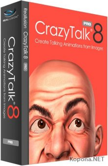 Reallusion CrazyTalk Pipeline 8.13.3615.3 + Rus + Resource Pack